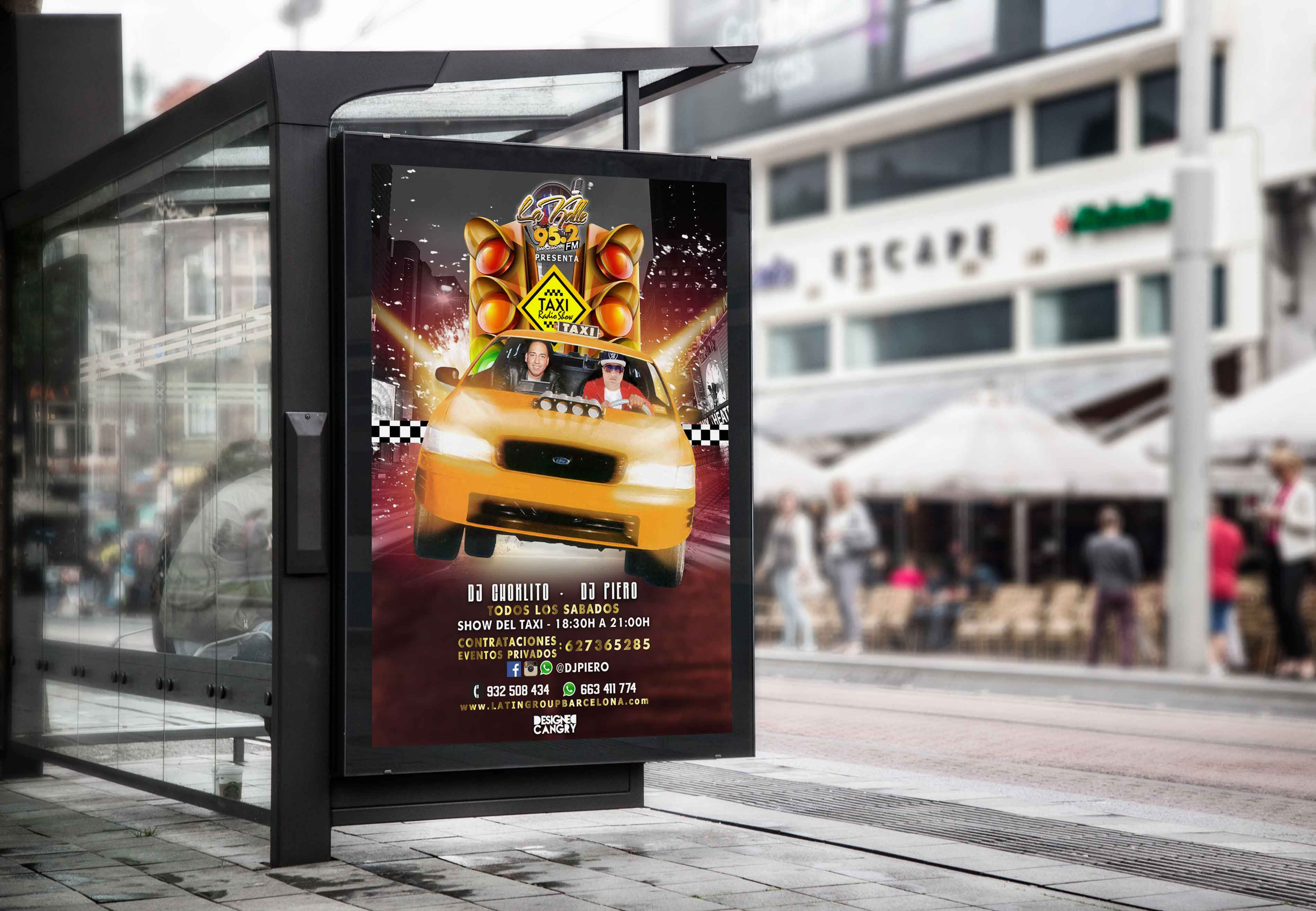 Diseño Flyer de la Radio La Kalle Taxi.jpg